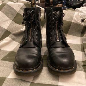 Dr. Martens zipper boots